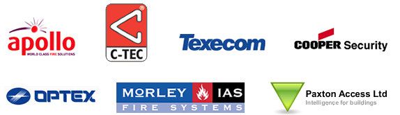 Suppliers of the equipment we use
